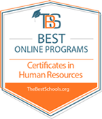 Best Online Programs Certificate in Human Resources
